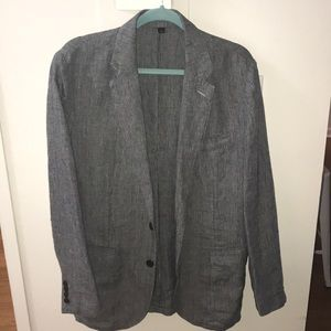 J Crew linen blazer
